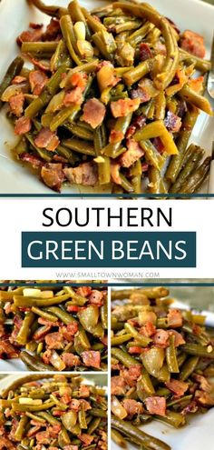 A recipe that your family will surely adore! These Southern Green Beans are slow-cooked string beans combined with onion, garlic, and crisp bacon. It is a heavenly, tender, melt-in-your-mouth green beans. Include the ingredients on your shopping list today!