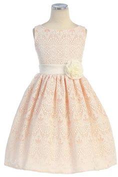 sweet vintage lace dress