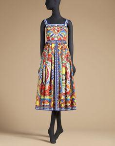 Dolce&Gabbana|F6XC4TFP5XCX0860|3/4 length dresses|Dresses