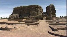 Kerma - North Sudan  3000 BC - City built around a large mud blick temple