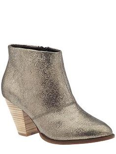 Aldo Montoro | Piperlime, a less expensive bootie option, a little flash