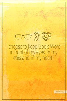 Say this today! #KCM #inspiration #Faith