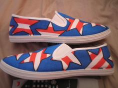 stars and stripes side view