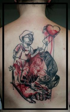 The new style of tattooing. #tattoo #tattoos #ink #inked