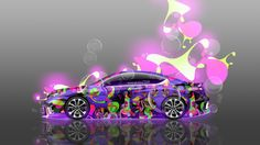 Honda Accord Coupe JDM Side Super Abstract Aerography