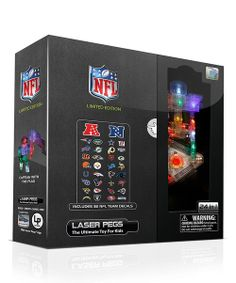 Take a look at the Limited Edition NFL 24-in-1 Laser Peg Set on #zulily today!