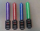 Star Wars Light Saber Hama/Perler Bead Magnet