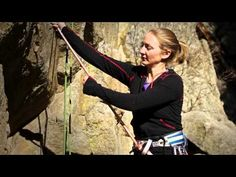 Rock Climbing Basics: Extending a Rappel - YouTube