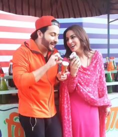 Kundali Bhagya: Shraddha Arya and Dheeraj Dhoopar's 'ice cream date' Cute Couples Goals, Couple Goals, Yeh Hai Mohabbatein, Cutest Couple Ever, Kumkum Bhagya, Romantic Photos, Tv Actors, Cute Celebrities, Cute Love Songs