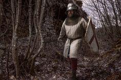 Medieval Infantry man portrayed by duzimage.com