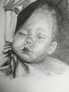 Baby study by mary claire