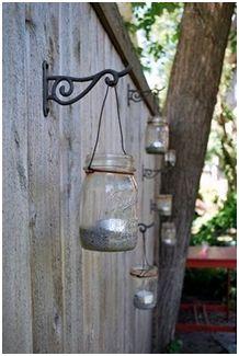 Mason jar lighting