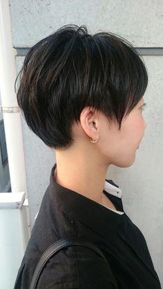 女性らしい、ツーブロック黒髪ベリーショート!中目黒美容室Lepes山口華絵のブログ