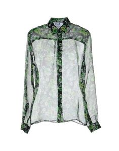 Msgm Women Floral Shirts & Blouses on YOOX. The best online selection of Floral Shirts & Blouses Msgm. YOOX exclusive items of Italian and international designers - Secure payments - Free Return Angela Martin, Pop Up Shops, Msgm, Sportswear Brand, Shirt Blouses, Bag Accessories, Chiffon, Fashion, Silk Fabric