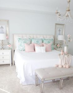 Master Bedroom Updates For Fall & Winter - Summer Adams Girl Bedroom Designs, Girls Bedroom, Master Bedroom, Bedroom Decor, Bedroom Ideas, Ikea Bedroom, Bedroom Inspo, Wall Decor, Beautiful Houses Interior