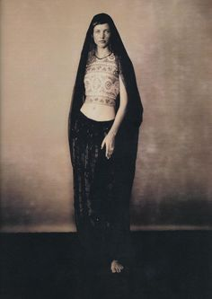 photographed by Paolo Roversi - Harper's Bazaar: February 1993 -