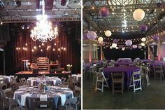 wedding lighting chandelier gobo lanterns nashville at houston station, #nashvillewedding, #wedding, #lighting