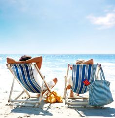 You can't beat hiring a deck chair and relaxing in the sun! #Seaside