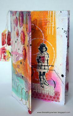 Mini art journal | Flickr - Photo Sharing!