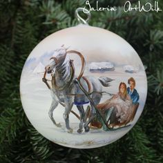 Hand painted by ArtWilk Glass Christmas Balls, Christmas Bulbs, Christmas Decorations, Holiday Decor, Painted Ornaments, Hand Painted, Crafting, Characters, Painting