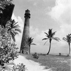 Lighthouse at Crandon Park - Key Biscayne, Florida. Florida Girl, Old Florida, Vintage Florida, Miami Florida, South Florida, Key Biscayne Florida, Miami Images, Costa, Crandon Park