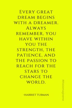 Harriet Tubman, African American Quotes, Black Characters, Reaching For The Stars, To Reach, Always Remember, Change The World, Patience, Quote Of The Day