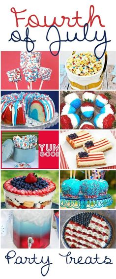 To celebrate the Fourth of July properly you have to have two things, fireworks and food. I can't help you with the fireworks but I can supply you with a wide variety of party time food recipes all dressed up in their red, white and blues. Patriotic Popcorn | This Girl's Life Blog Red, White