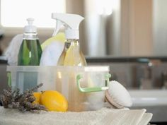 Try one DIY Network editor's weekend approach to cleaning, decluttering and organizing.