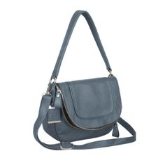 Donata Shoulder Bag - Pigeon Blue | Knights and Roses