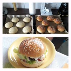 A finom házi hamburgerhez, zsemle is kell, most elárulom, nálunk melyik recept a kedvenc! Mini Burgers, Cooking Recipes, Healthy Recipes, Winter Food, Baked Goods, Bakery, Food And Drink, Healthy Eating, Yummy Food