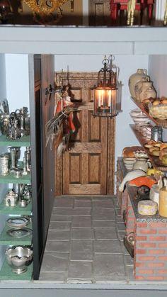 kitchen scullery georgian dollshouse by joep suijker