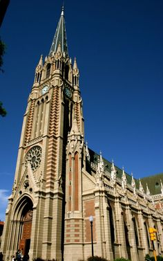 The Cathedral of San Isidro (Isidore of Seville) in San Isidro, Argentina.