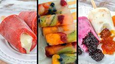 Dia 23 de setembro é o dia do sorvete! Veja como fazer as receitas de paleta mexicana e picolé com pedaços de frutas.