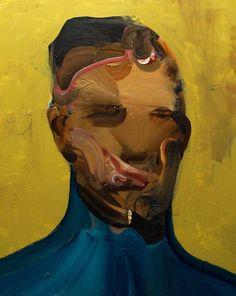 "Saatchi Art Artist Daniel Maczynski; Painting, ""the robber"" #art"