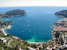 One of the most beautiful places I've ever been to. Villefranche, Provence, France