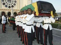 Bob Marley Funeral 1981