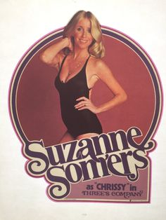 "Suzanne Somers ""Chrissy"" from Three's Company Vintage 1978 Iron On Heat Transfer by VintageIronOn on Etsy"