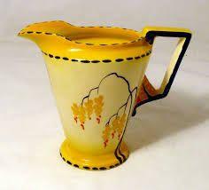 Burleigh/burgess & Leigh The Best Art Deco Burleigh Ware Zenith Design Bowl C.1930s Brocade Design Fine Craftsmanship