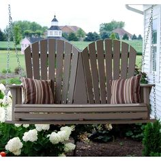 19 Appealing Adirondack Porch Swings Pic Ideas