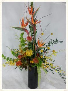 Yes Log Cabin Florist Makes Beautiful Unique Tropical Arrangements.