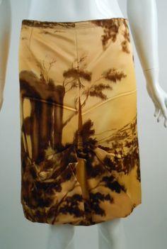 Prada skirt via ebay