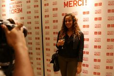 French Blogger Cici Online at Uniqlo event in Paris