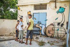 """Artist : Julien """"Seth"""" Malland """"for Djerbahood (Tunisia)"""""""
