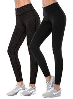 4830e37939 Aenlley Womens Activewear Yoga Pants High Rise Workout Gym Spanx Tights  leggings Color Black Size XS