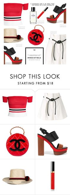 """A Touch of Chanel'"" by dianefantasy on Polyvore featuring 3.1 Phillip Lim, Chanel, Michael Kors, YOSUZI, polyvorecommunity and polyvoreeditorial"