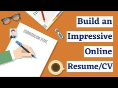 How to write an impressive Resume/CV Online that get noticed by employers for Job 2020 Urdu | Hindi - YouTube Cv Online, Online Resume, Build A Resume, Grant Writing, Resume Cv, Earn Money, Curriculum, How To Get, Motivation