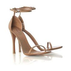 64a6248c3cb7 Azzedine Alaia Strappy Sandals in Nude as seen on Jennifer Aniston Alaia  Heels
