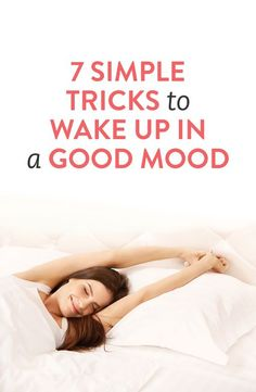 *Tips to make waking up easier (especially when you're not a morning person) #sleep