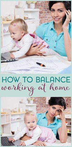 Thinking about working at home or starting a home based business? Be sure to check out these tips for balancing your work life and your personal life.