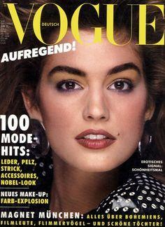 Cindy Crawford by Bill King Vogue Deutsch September 1986